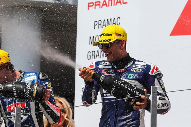 Al Sachsenring 5° vittoria stagionale
