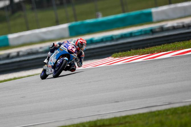 Moto3 alla prova Sepang