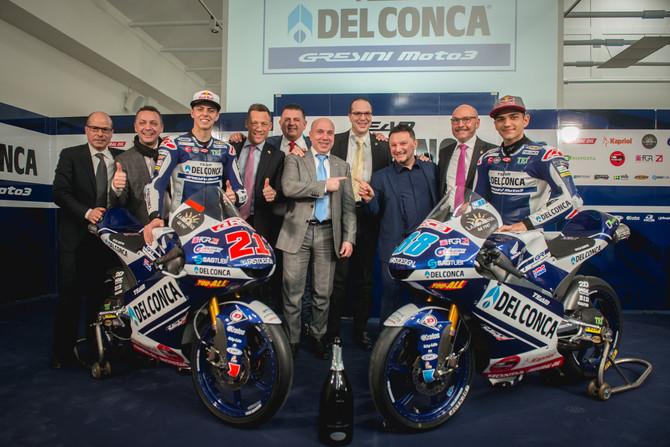Holiday Dream Club si unisce alla sfida Del Conca Gresini Moto3