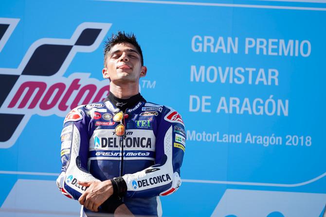 Martin vola ad Aragon: 6° vittoria stagionale