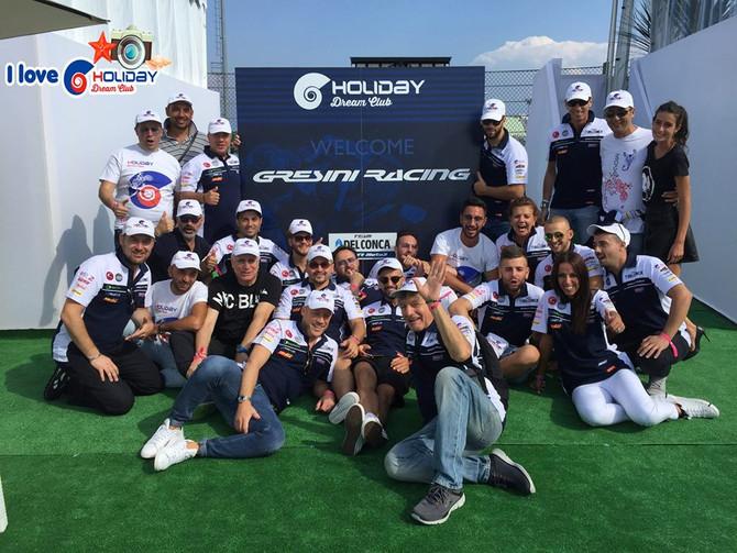 HDC al circuito di Misano con il team Del Conca Gresini!