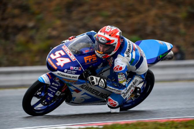Rodrigo riposo forzato, Rossi fatica a Brno