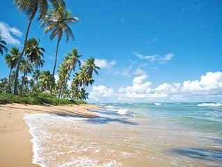 Cartolina dal Brasile tra sole, mare e relax