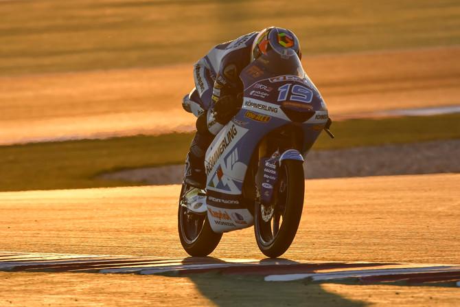 Un punto per Rodrigo nel #QATARGP, Rossi completa la sua prima gara mondiale