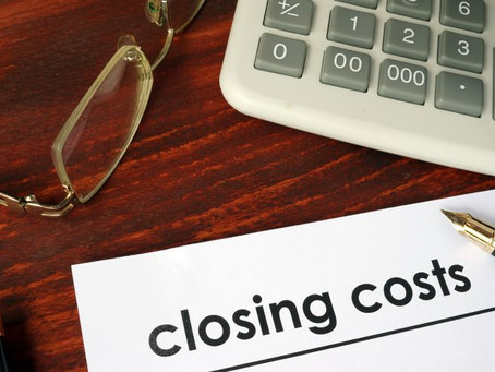 Pay less in closing costs