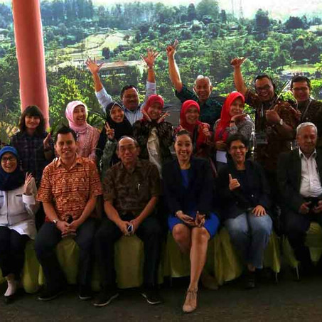 Second Indonesian Applied Management Training Cohort completes course in September 2017