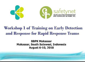 Pilot Training on Early Detection and Response for RRTs in Indonesia