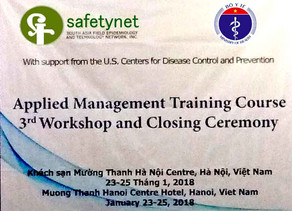 3rd Workshop and Closing Ceremony for Viet Nam's First Applied Management Training Course