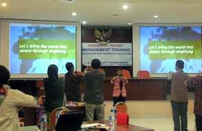 Second Six-Month Applied Management Training Course in Indonesia Underway
