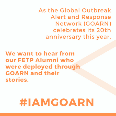 Call for Stories: I Am GOARN