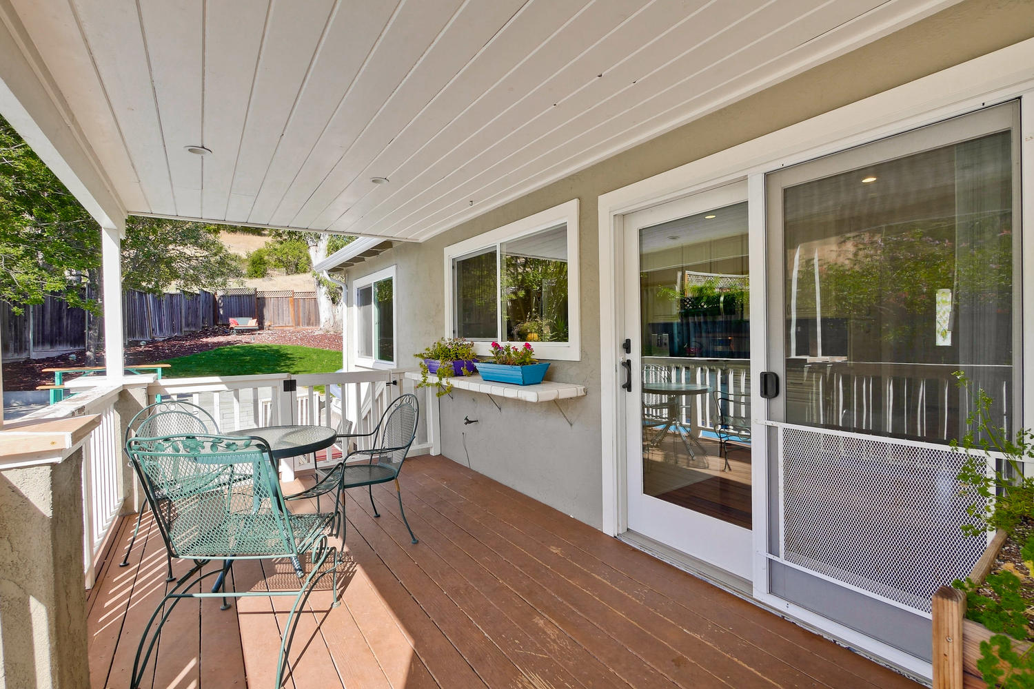 820 Colleen Dr San Jose CA-large-074-21-Deck off Kitchen Overlooking-1500x1000-72dpi