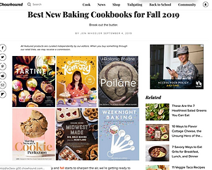 Best New Baking Cookbooks for Fall 2019