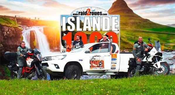 Voyage à moto en Islande par Raid2roues, f 910,traversée de rivieres,tout-terrain,maxi trail, adventure