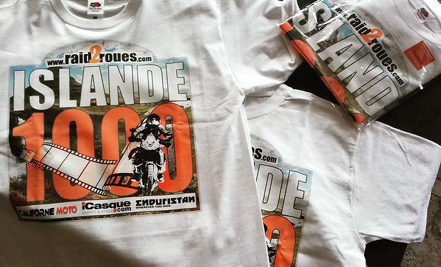 tshirts raid2roues islande 1000