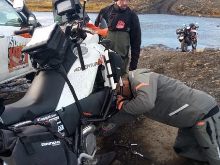 Voyage à moto en Islande par Raid2roues Day 4 : Retour à la civilisation...
