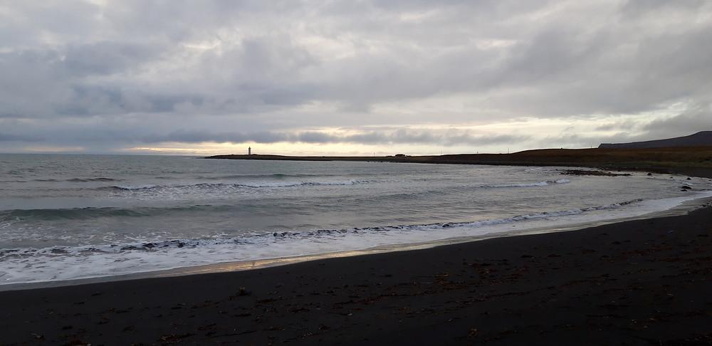 raid2roues,voyage à moto,islande,kopasker, sable noir,plage, islande 1000,roadtrip,offroad,tout-terrain,ktm,adventure,1290,990,