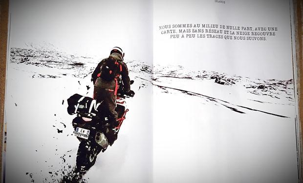 Voyage en Islande à moto par Raid2roues, sur la 910 la neige commence à tomber !  bande annonce islande 1000 Voyage à moto en Islande, un road trip par raid2roues