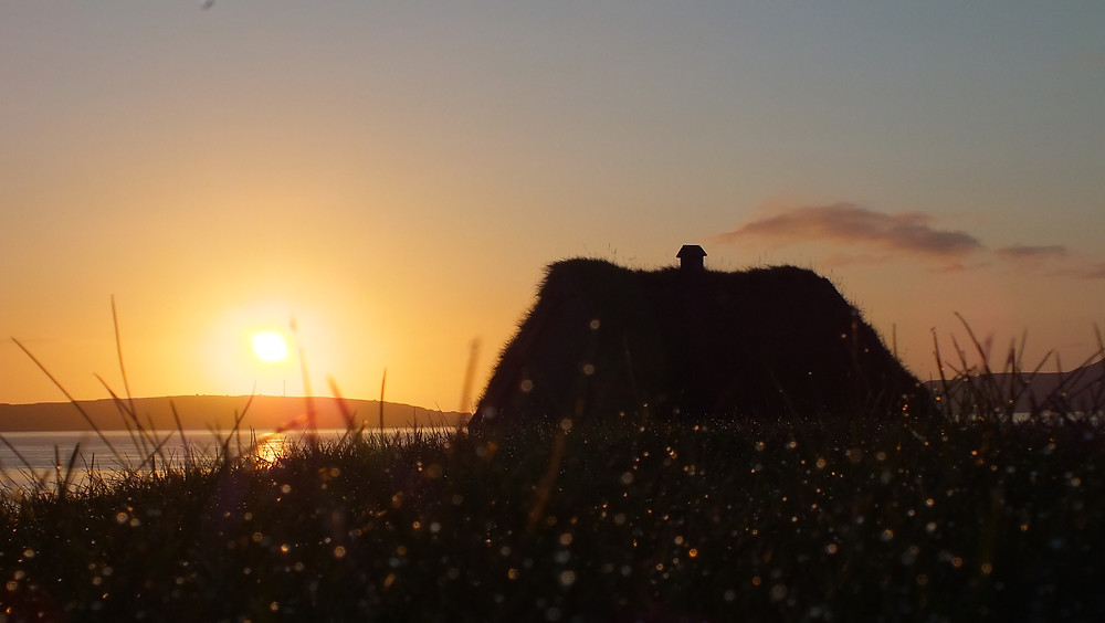 escale aux iles feroe, l'islande à moto