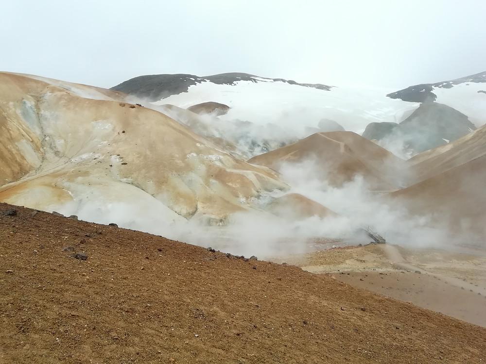 raid2roues, jerlingarfjoll mountains, iceland,adventure motorcycle trip