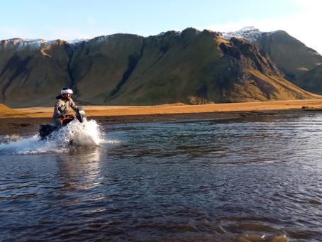 Voyage à moto en Islande par Raid2roues Day 7 : Une journée de rêve…