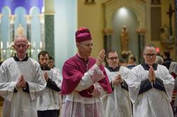 Pontifical Mass (Archbishop Sample)