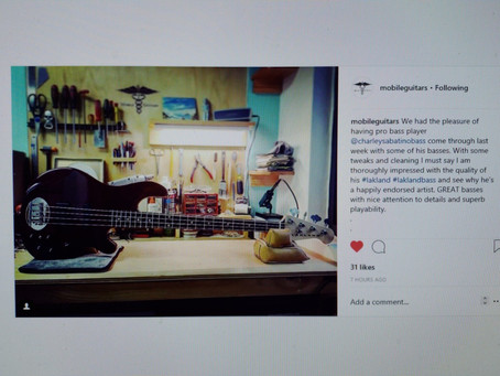 Lakland Basses/Mobile Guitars