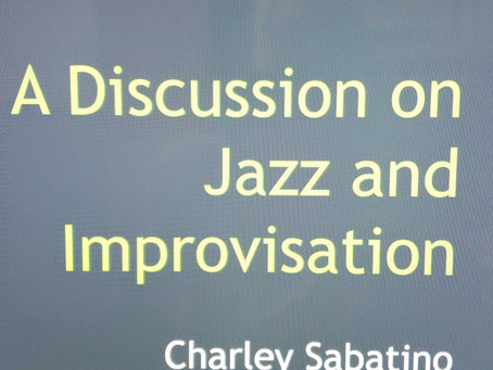 Jazz Lecture..
