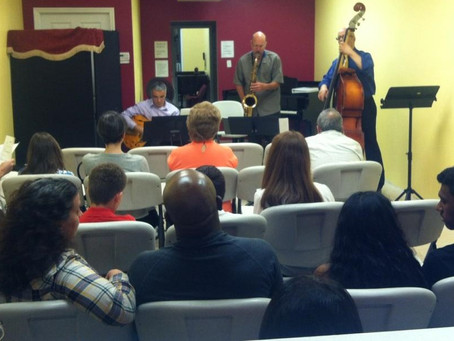 Jazz Workshop Concert Photos September 27th, 2014