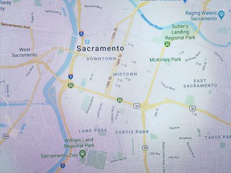 Sacramento,  California!