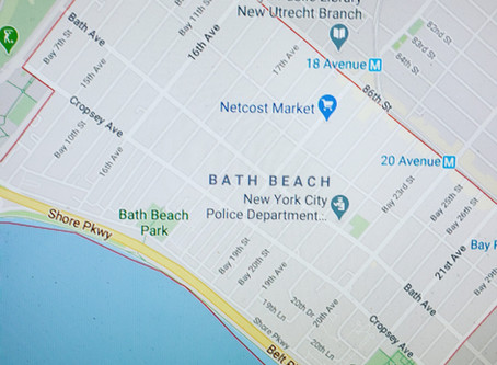 Welcoming Bath Beach, Brooklyn to the teaching roster..