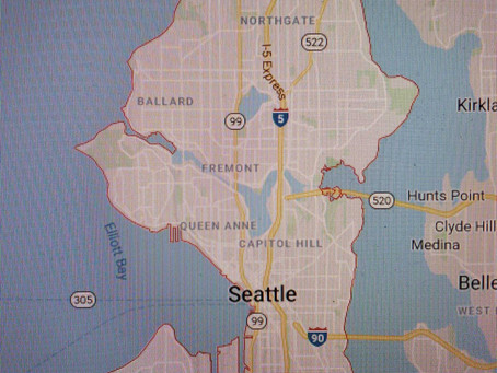 Seattle, Washington!
