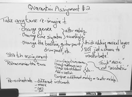 Quarantine Assignment #2