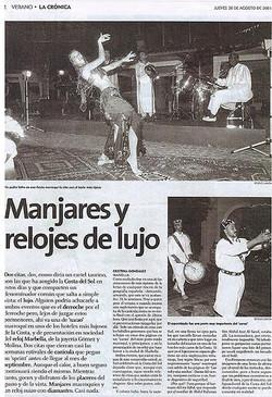 Helena Rull en Diario El Sur