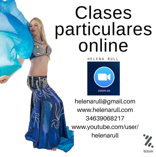 Clases online danza del vientre