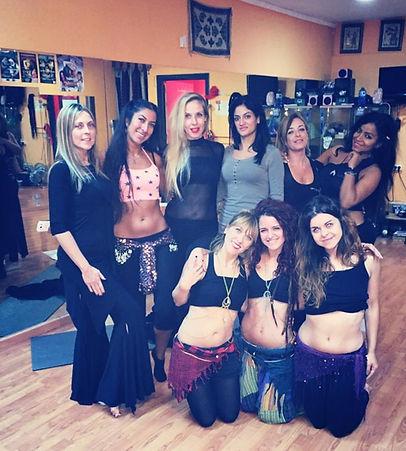 formación danza oriental
