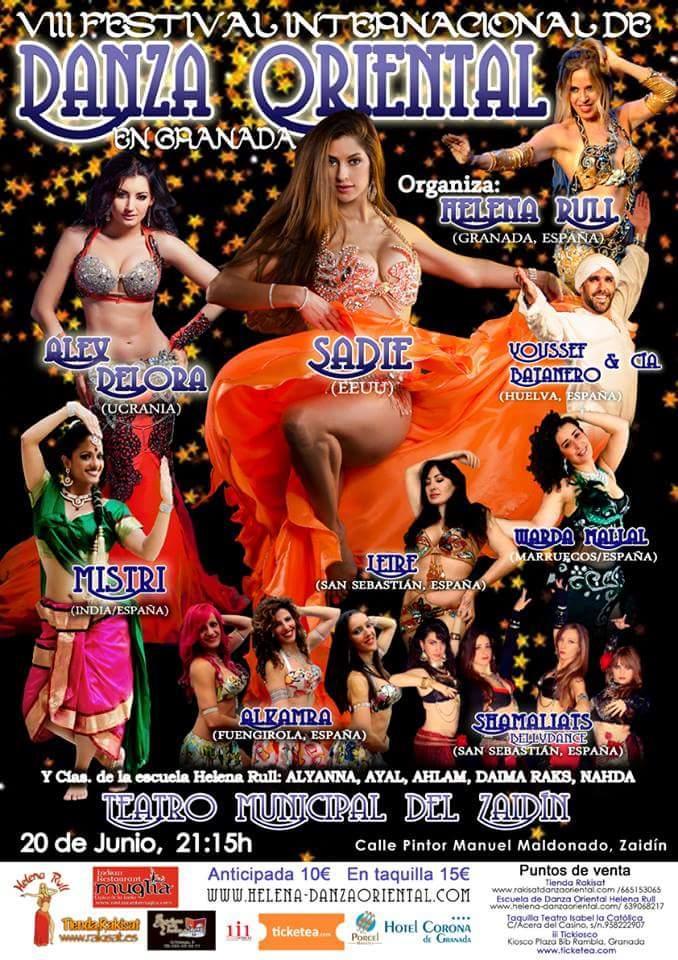 Festival Internacional de Danza Oriental en Granada