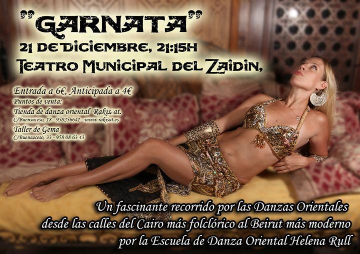"""Espectáculo """"Garnata""""21 de Diciembre, 21:15h.jpgTeatro Municipal"""