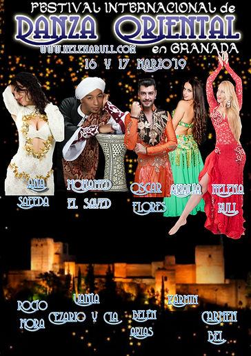 festival internacional de danza del vientre en Granada