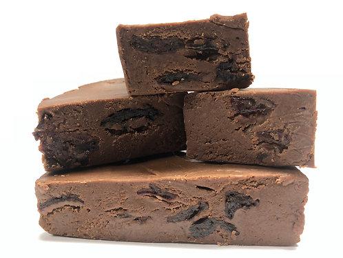 Chocolate Cherry Fudge (One Pound)