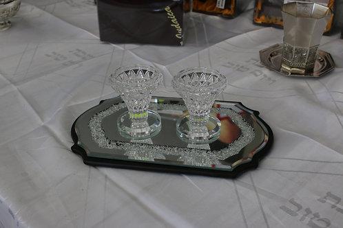 Set de bendiciones de velas de Shabat