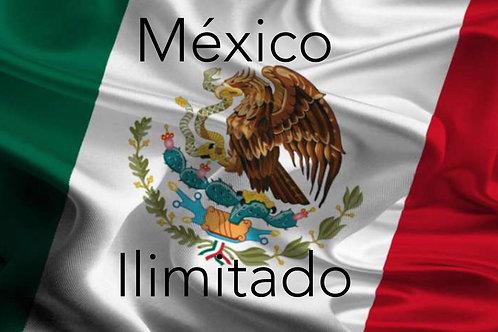 ILIMITADAS a MEXICO  más TV internet de regalo
