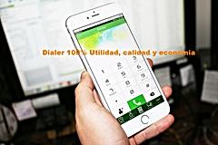 Telefonia Ip rentable, Dialer