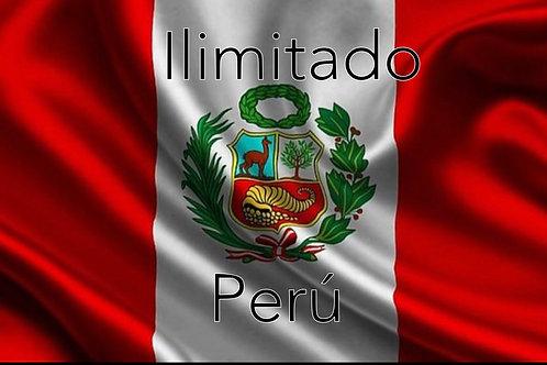 LAMADAS ILIMITADAS (1mes) a PERU más TV internet de regalo