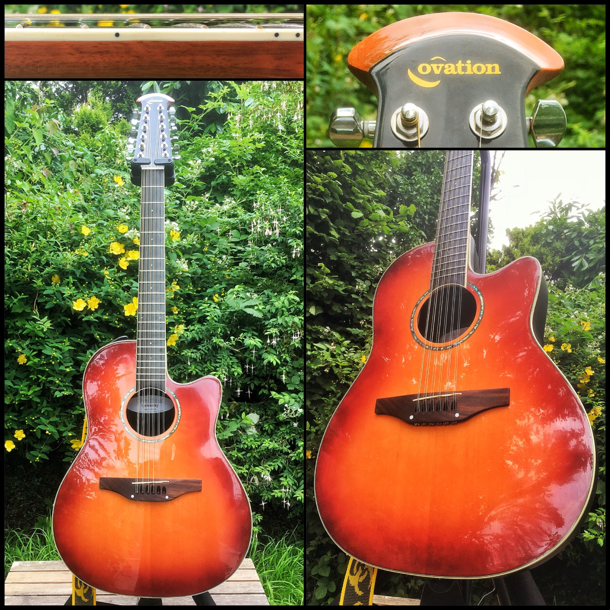 Ovation 12 string acoustic