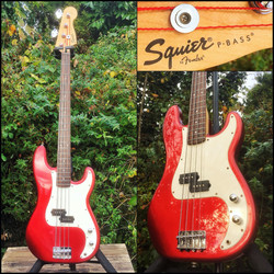 Fender Squire bass