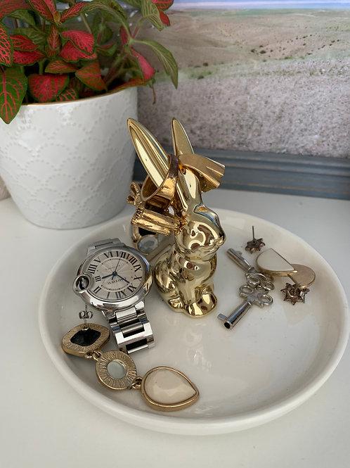 Bunny Jewelry Tray
