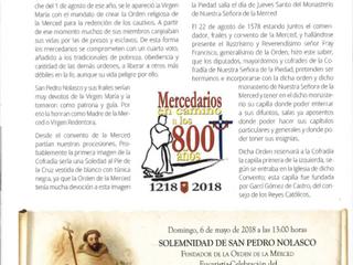 Aniversario 800 años de la Orden de la Merced