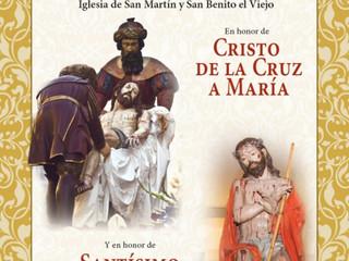 TRIDUO EN HONOR DE CRISTO DE LA CRUZ A MARÍA Y EN HONOR DE SANTÍSIMO CRISTO DE LA HUMILDAD