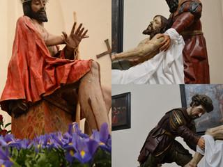 TERCER DÍA DEL TRIDUO EN HONOR DE CRISTO DE LA CRUZ A MARÍA Y EN HONOR DE SANTÍSIMO CRISTO DE LA HUM