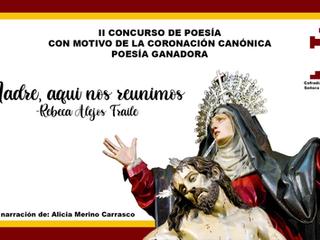 Poesía ganadora del II Concurso de Poesía de la Coronación Canónica de Nuestra Señora de la Piedad